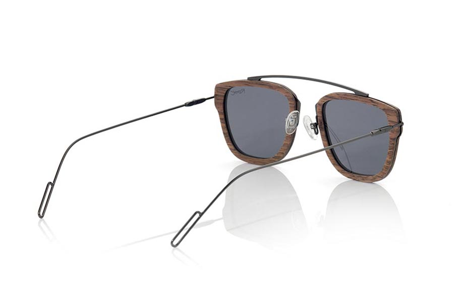 Wood eyewear of Black Walnut LOMBOK | Root Sunglasses®