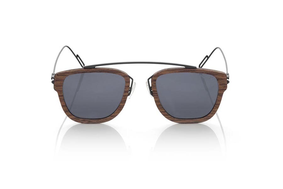Gafas de Madera Natural de Nogal Negro LOMBOK | Root Sunglasses®