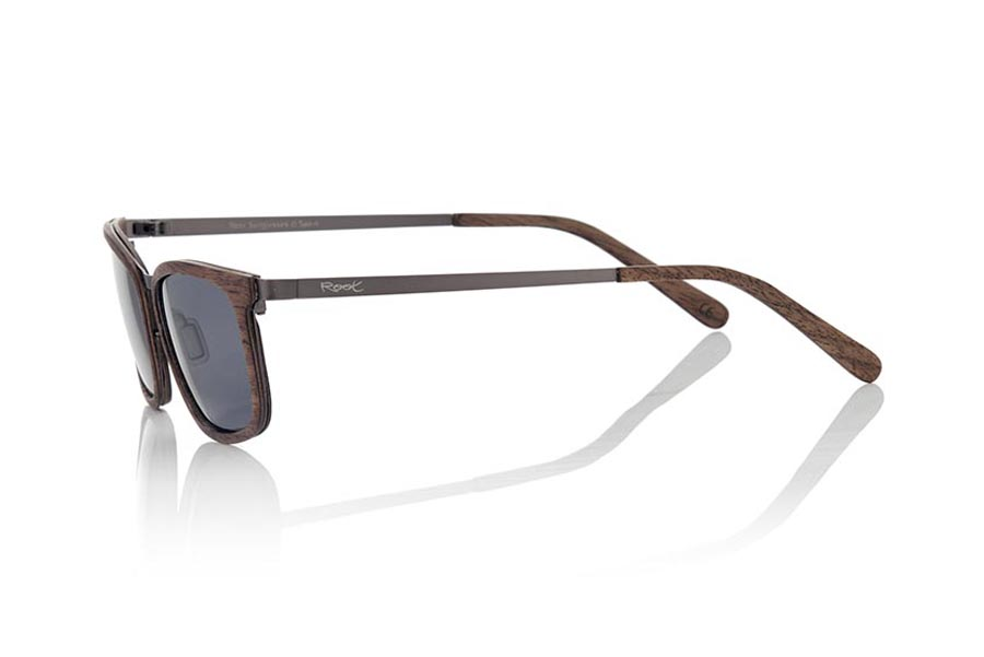 Wood eyewear of Black Walnut LUZON | Root Sunglasses®
