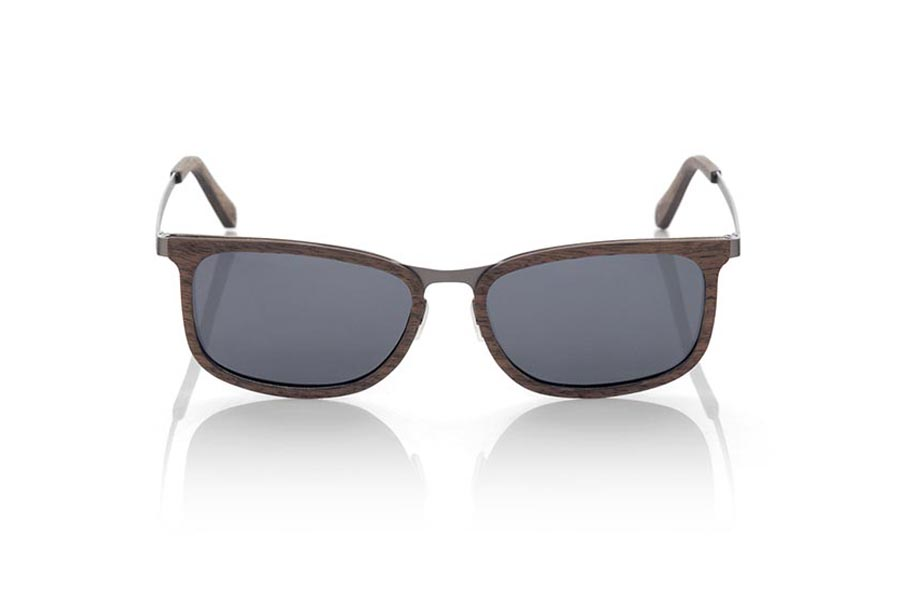 Gafas de Madera Natural de Nogal Negro LUZON | Root Sunglasses®