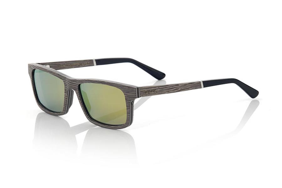 Wood eyewear of Silk Grey MOLOKINI | Root Sunglasses®