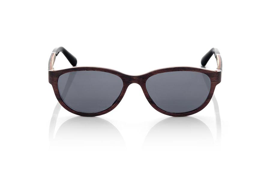 Wood eyewear of Ebony MICONOS.   |  Root Sunglasses®