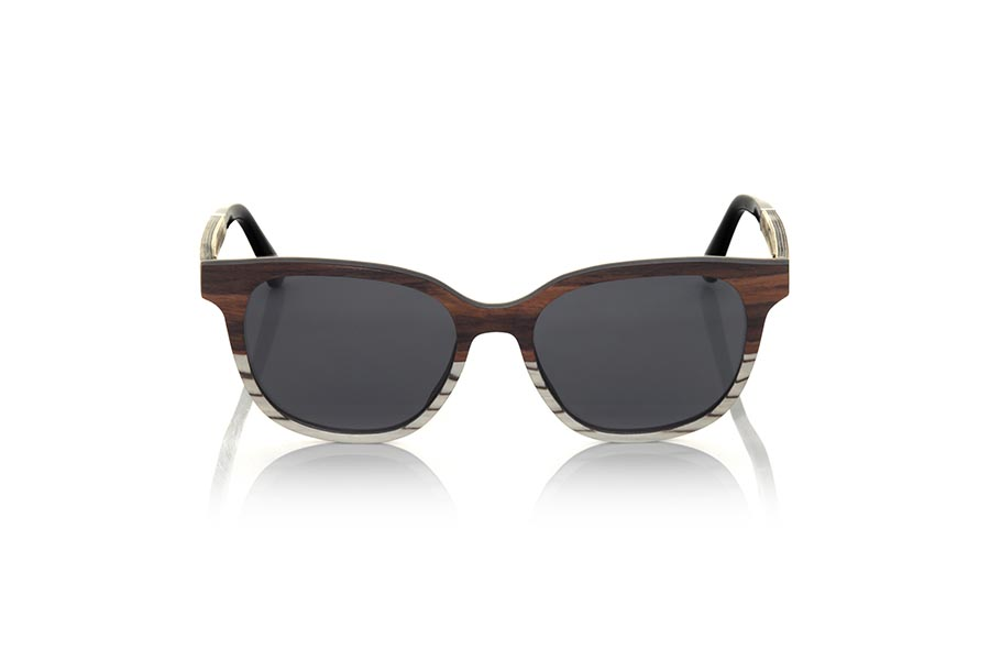 Wood eyewear of Mahogany SAMUY.   |  Root Sunglasses®