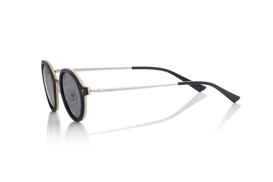 Wood eyewear of Ebony IOKO | Root Sunglasses®