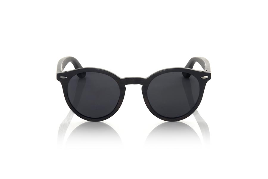 Wood eyewear of Ebony modelo SOMAD | Root Sunglasses®