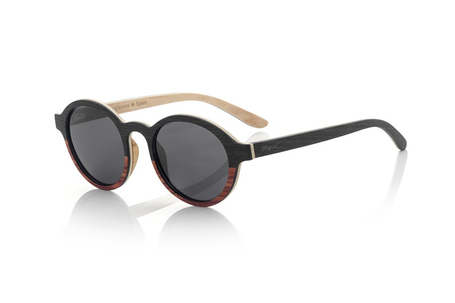 Wood eyewear of mpingo MISTRAL.   |  Root Sunglasses®