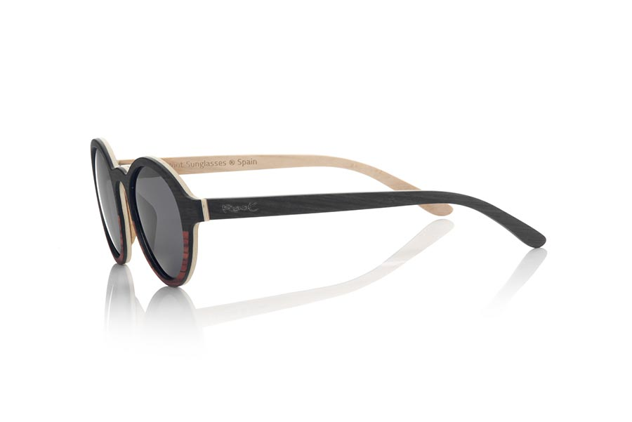 Wood eyewear of mpingo MISTRAL | Root Sunglasses®
