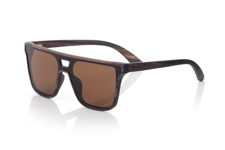 Wood eyewear of ebony modelo RIAD | Root Sunglasses®