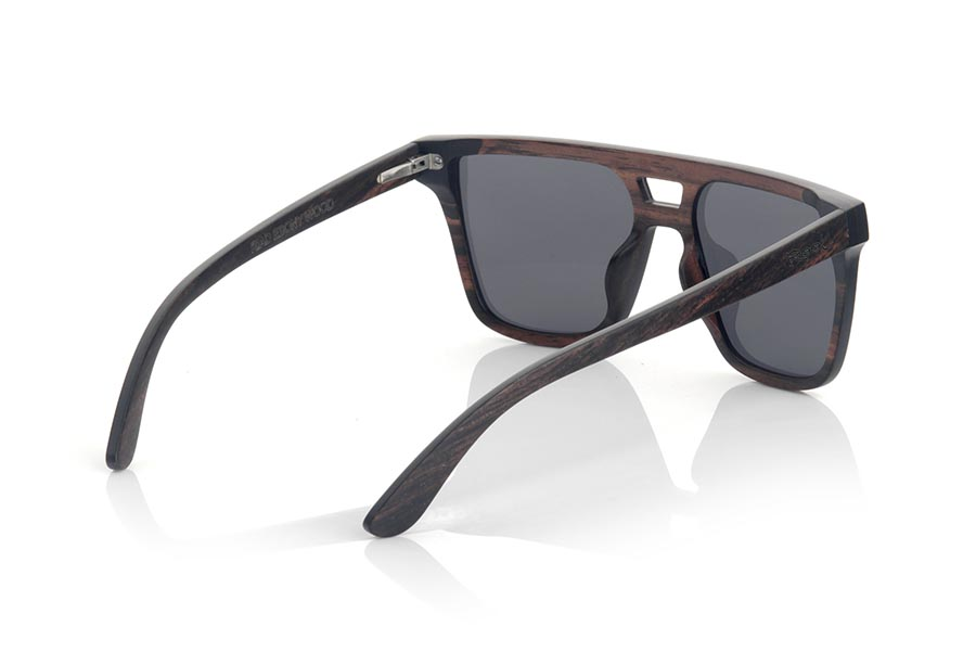 Gafas de Madera Natural de ebony RIAD.   |  Root Sunglasses®