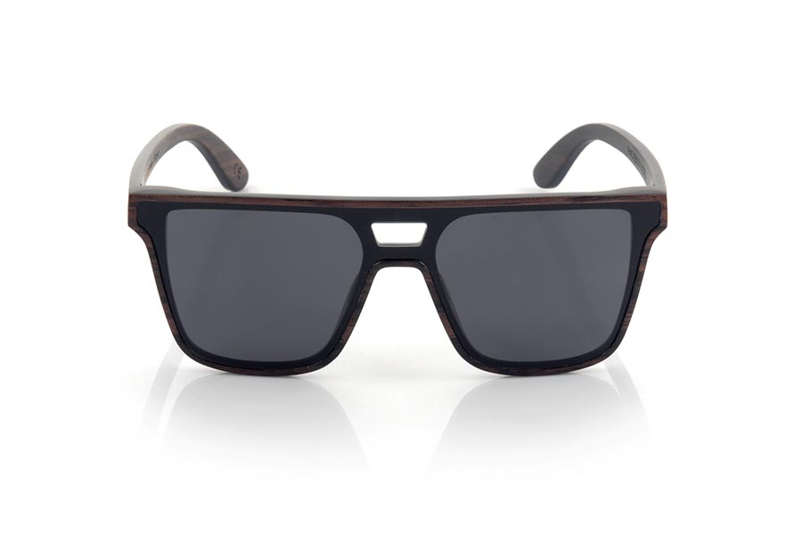 Wood eyewear of ebony RIAD.   |  Root Sunglasses®
