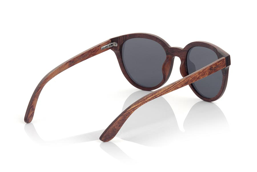 Wood eyewear of rosewood SENA.   |  Root Sunglasses®