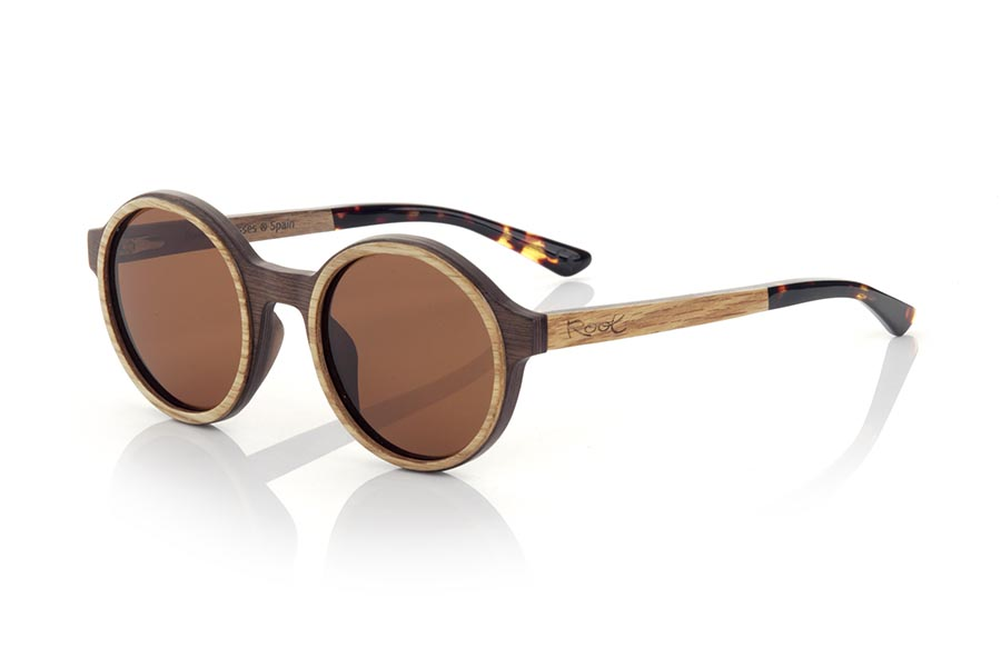 Gafas de Madera Natural de Walnut NILIA.   |  Root Sunglasses®