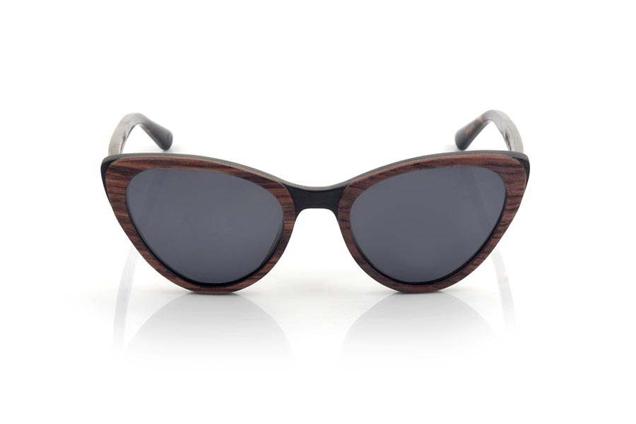 Wood eyewear of rosewood LOUISE.   |  Root Sunglasses®