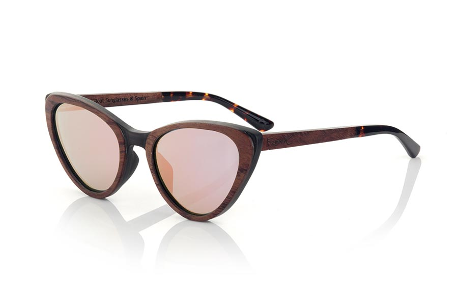 Wood eyewear of rosewood modelo LOUISE | Root Sunglasses®