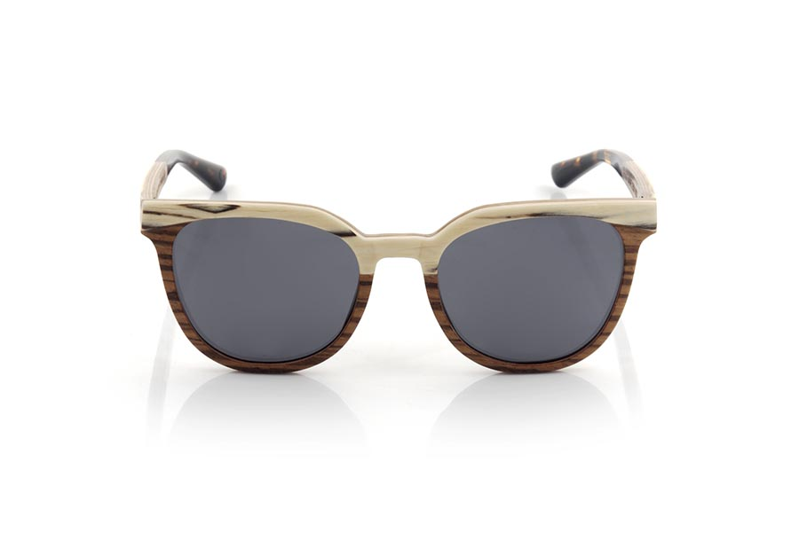 Wood eyewear of zebra LAURE.   |  Root Sunglasses®