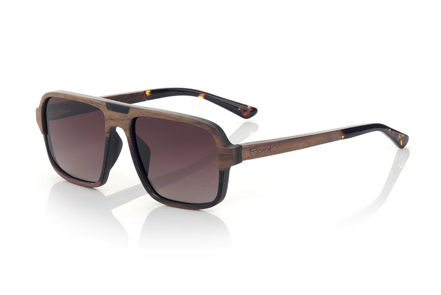Wood eyewear of Walnut RALPH.   |  Root Sunglasses®