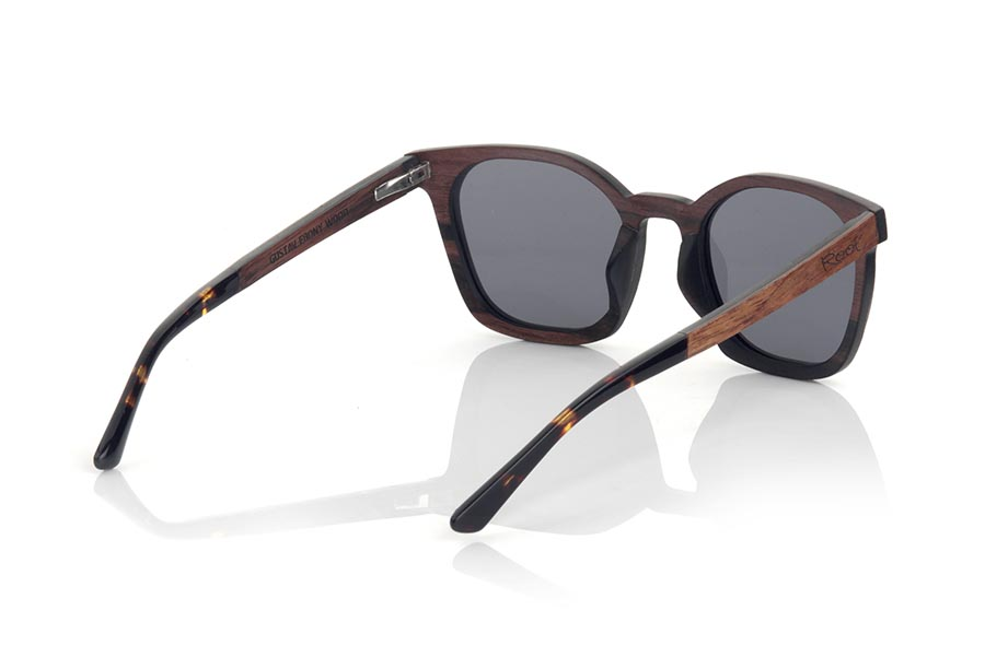 Gafas de Madera Natural de ebony GUSTAV.   |  Root Sunglasses®