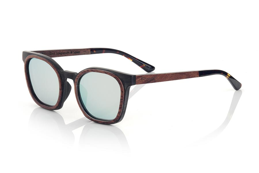 Wood eyewear of ebony modelo GUSTAV | Root Sunglasses®