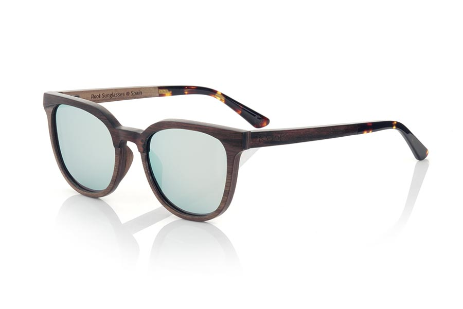 Gafas de Madera Natural de ebony PAUL.   |  Root Sunglasses®