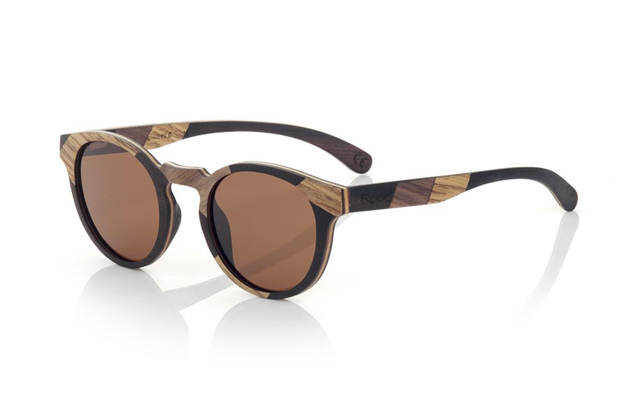 Wood eyewear of Walnut NEILY.   |  Root Sunglasses®