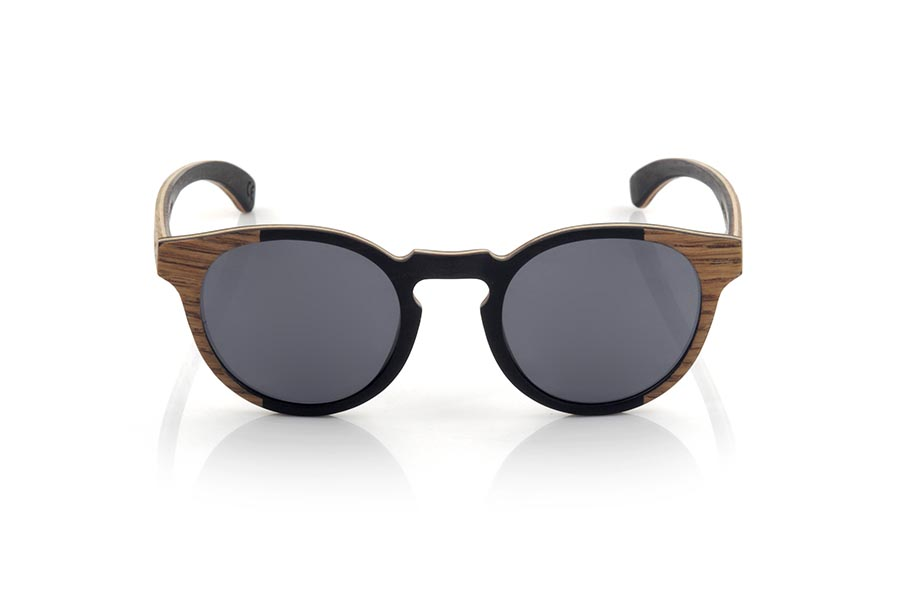 Wood eyewear of Roble modelo BOHO RY | Root Sunglasses®