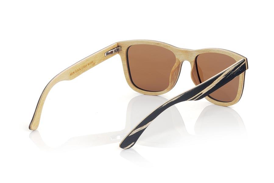 Wood eyewear of zebra ARUN.   |  Root Sunglasses®