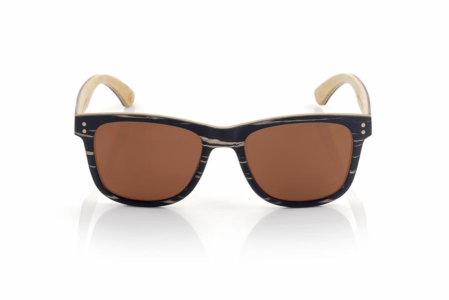 Wood eyewear of zebra modelo ARUN | Root Sunglasses®