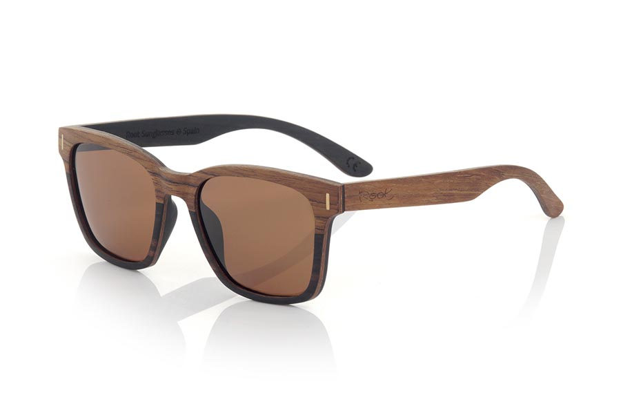 Wood eyewear of ebony modelo URA | Root Sunglasses®