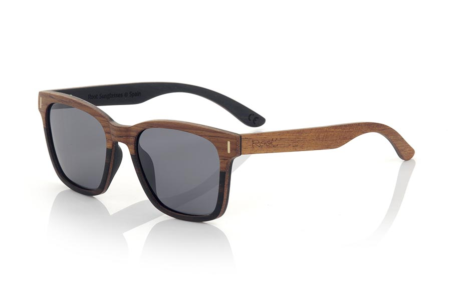 Gafas de Madera Natural de ebony modelo URA | Root Sunglasses®