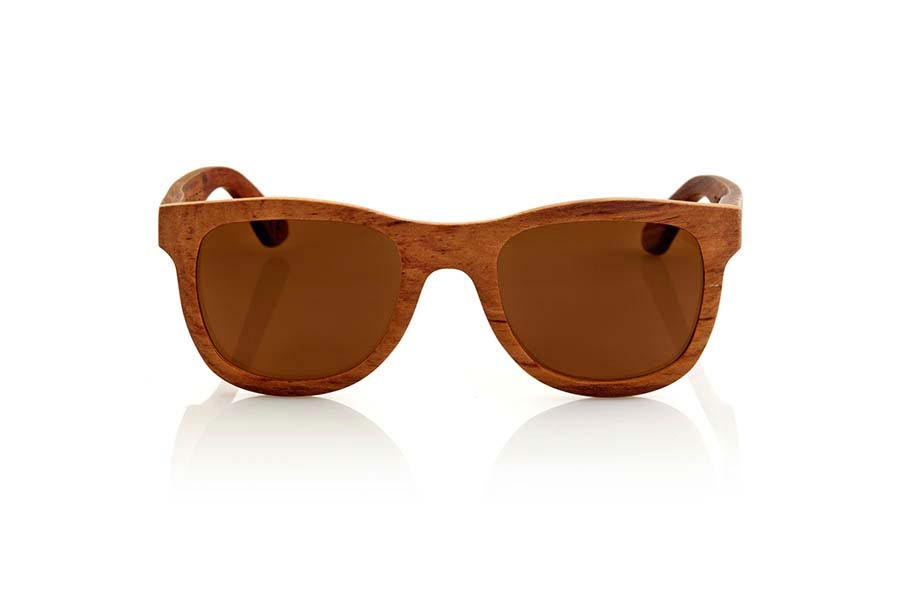 Wood eyewear of Rosewood CHERRY.   |  Root Sunglasses®