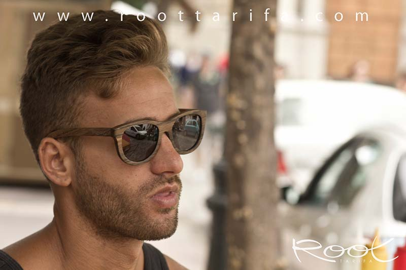 Wood eyewear of Zebra KALETA.   |  Root Sunglasses®
