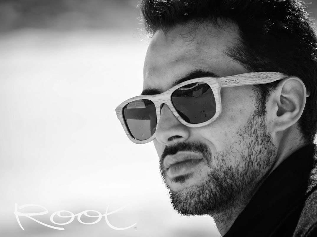 Wood eyewear of Oak RAJASTAN | Root Sunglasses ®