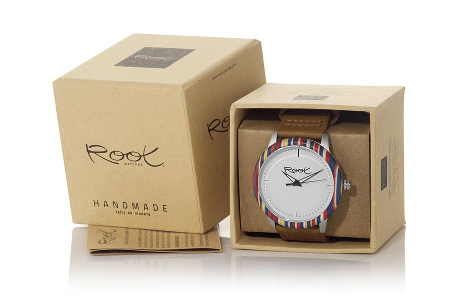 Reloj de Madera Laminada NADINA...  | Root® Watches