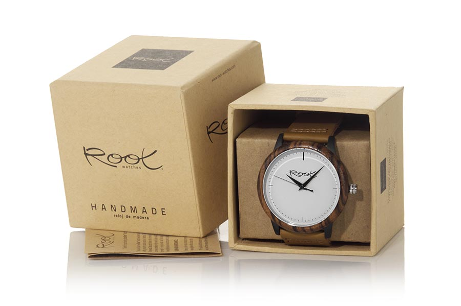 Eco Watch made of Zebrano RANDY...  | Root® Watches