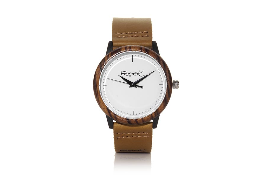 Eco Watch made of Zebrano modelo RANDY.  | Root® Watches