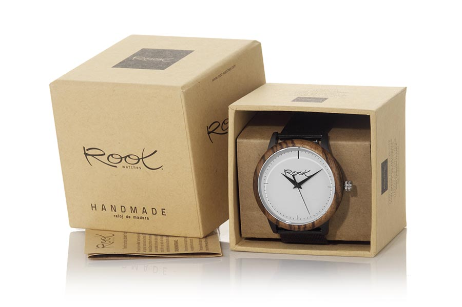 Reloj de Madera Zebrano NEO | Root® Watches