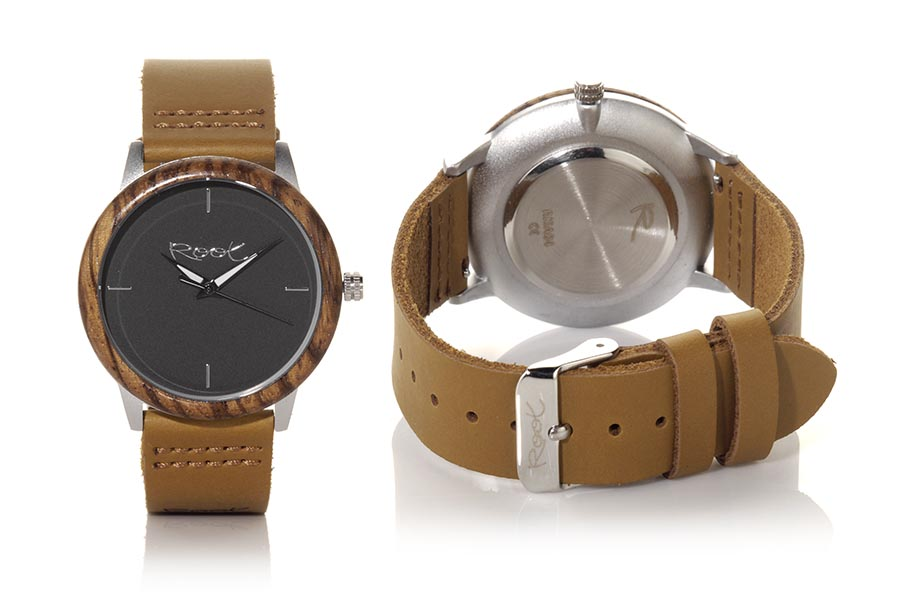Eco Watch made of Zebrano DKNOW | Root® Watches