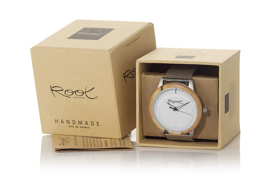Reloj de Madera Roble EVON | Root® Watches