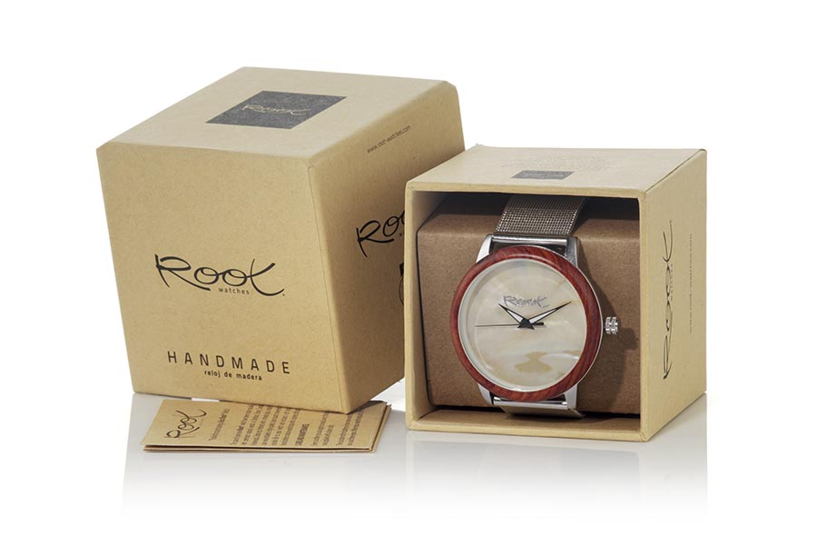 Eco Watch made of rosewood modelo SHELL | Root® Watches