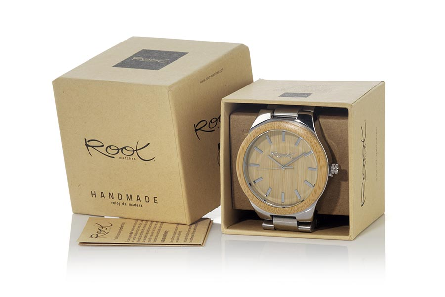 Reloj de Madera rosewood ELEGANCE...  | Root® Watches