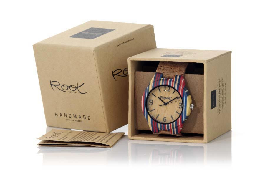 Reloj de Madera Laminada ISLA | Root® Watches
