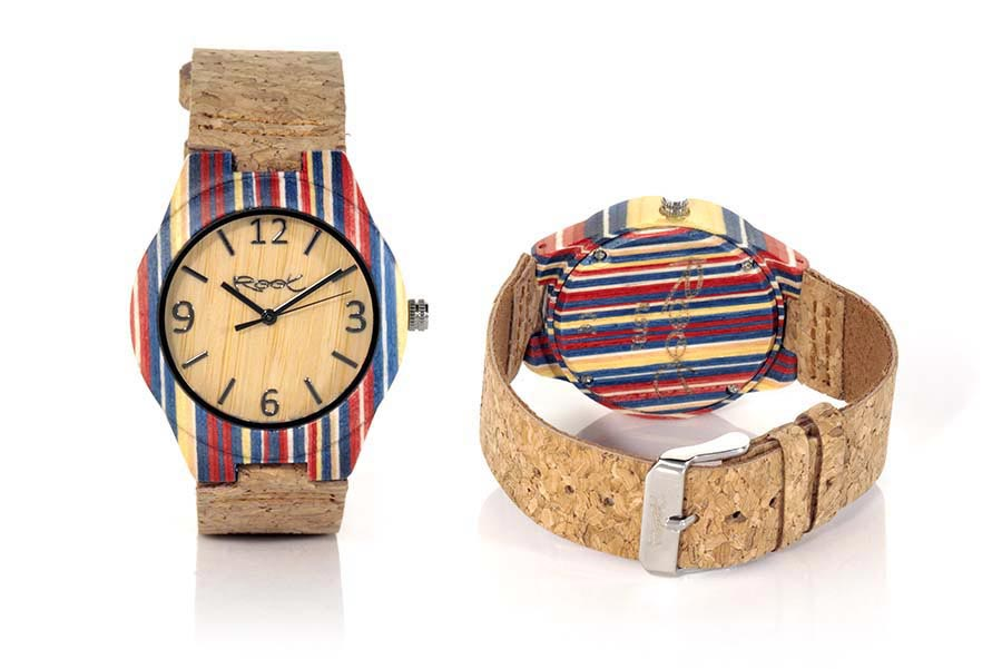 Eco Watch made of Skateboard ISLA | Root® Watches