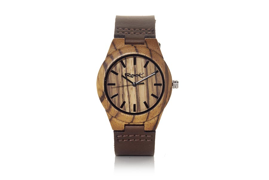 Reloj de Madera Zebrano TERRA | Root® Watches