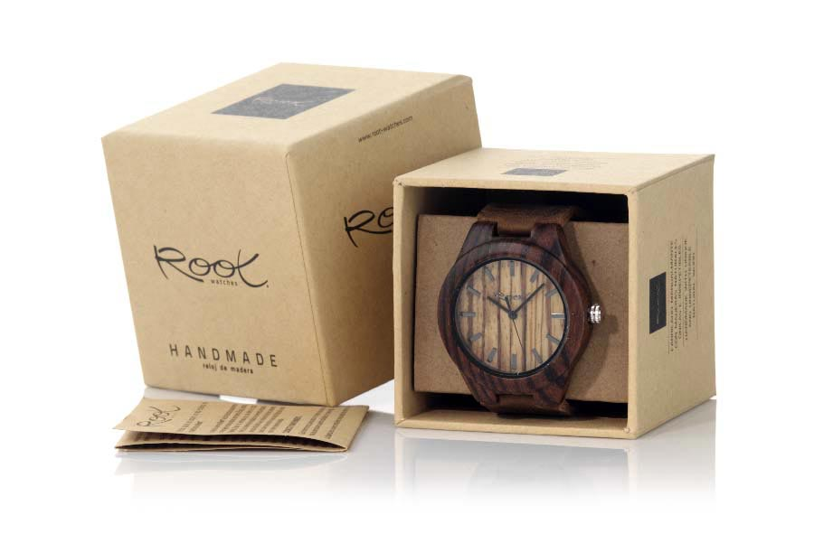Eco Watch made of Zebra modelo TERRA | Root® Watches