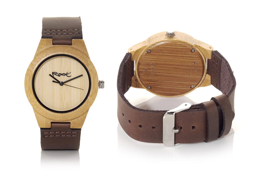 Reloj de Madera Bambú MINIMAL GIRL | Root® Watches