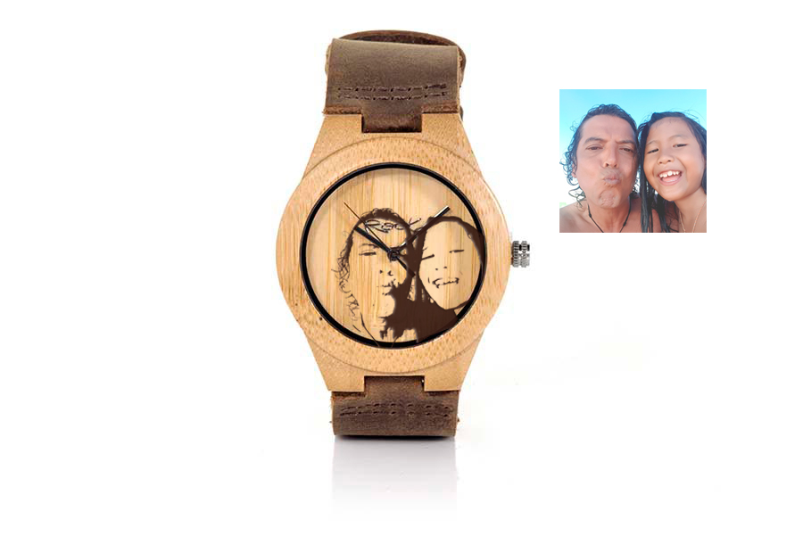 Eco Watch made of  Imagen grabada en dial | Root® Watches