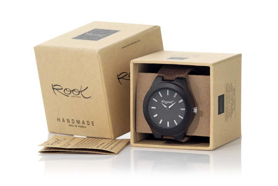 Eco Watch made of Ebony RJST04 | Root® Watches