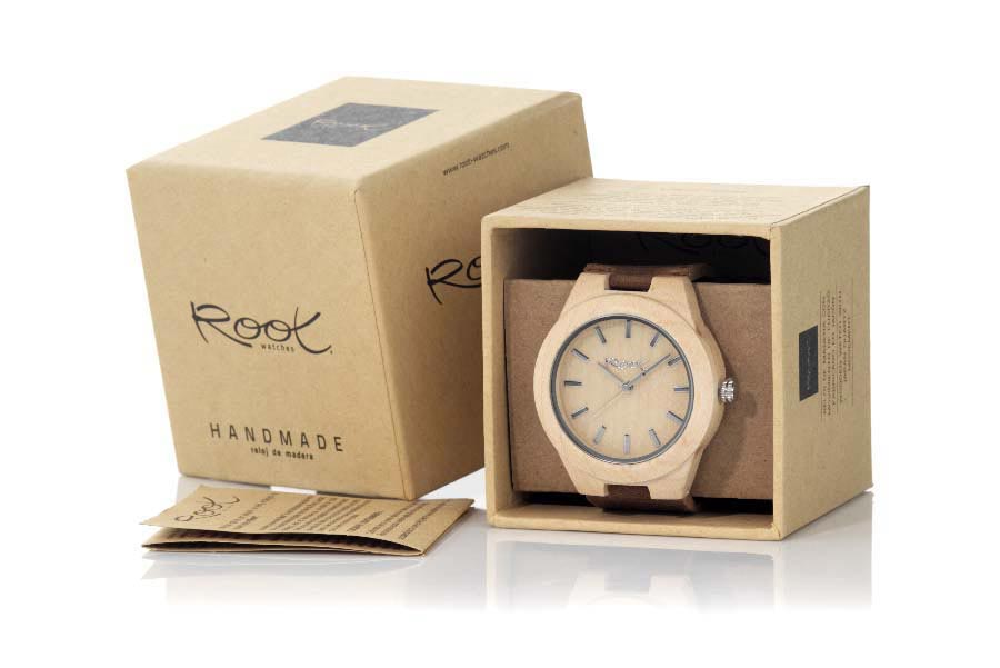 Reloj de Madera Arce FARO | Root® Watches