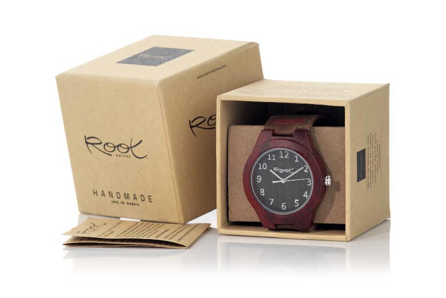 Eco Watch made of Sandalwood CLAY | Root® Watches