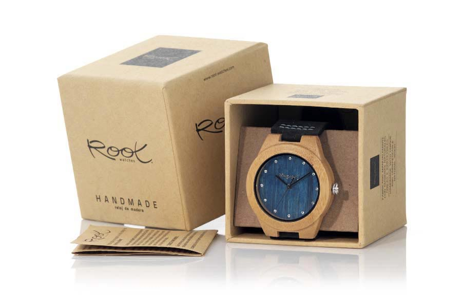 Reloj de Madera Arce DANA BLUE | Root® Watches